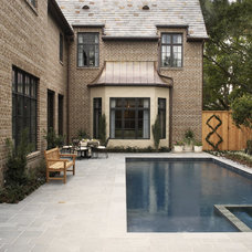 Traditional Pool by Thompson Custom Homes