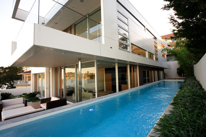 Modern Pool by Secret Gardens