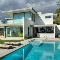 modern pool by Bertram Architects
