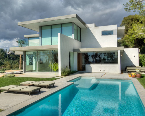 Modern villa architecture houzz for Villas modernes architecture