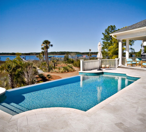 Traditional Pool by LORRAINE G VALE, Allied ASID