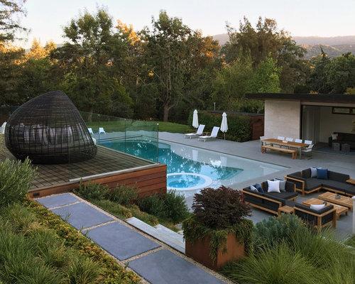 houzz backyard pool design ideas remodel pictures - Backyard Pool Design Ideas