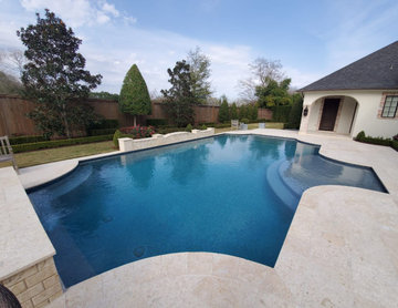 Los Frailes Outdoor Pool Replaster & Remodel