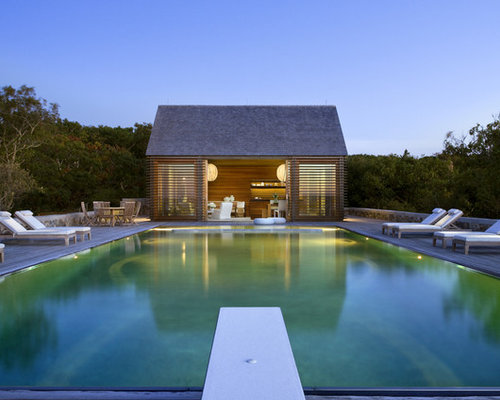 Pool house kits home design ideas renovations photos for Pool design houzz