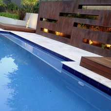 Modern Pool by SolScapes
