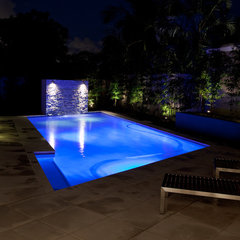 contemporary pool by Luisa Interior Design