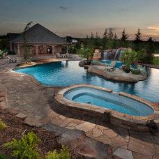 Tropical Pool by American Tile and Stone/Backsplashtogo
