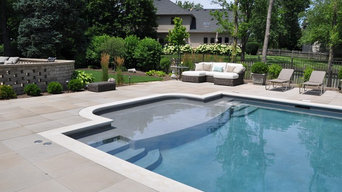 Luxurious Outdoor Pool with Pool House & Pergola
