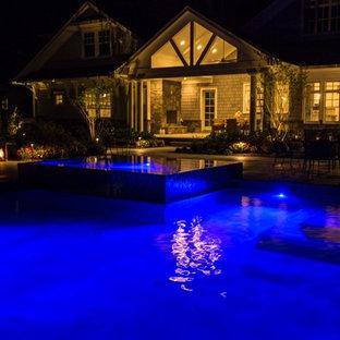 Luxury 75' Long Lap Pool Ridgewood NJ