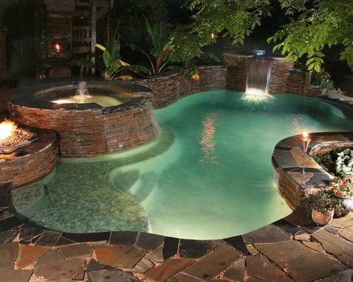 luxury backyard houzz