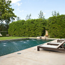Traditional Pool by Southern Botanical, Inc.