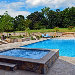 Luxury Inground Swimming Pool & Spa Design & Installation- Bergen County  NJ