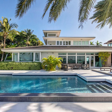 Luxury North Miami Beach Waterfront Pool Home