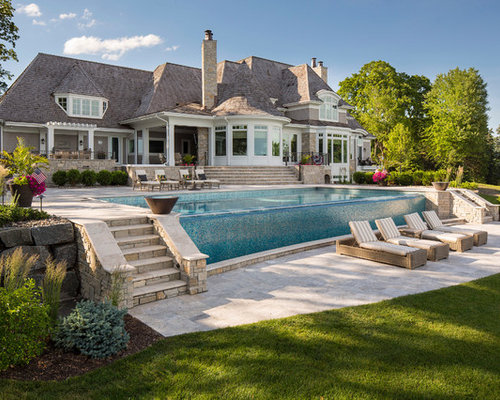 Best beach style pool design ideas remodel pictures houzz for Pool design houzz