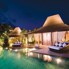 asian pool Luxury Villas Resorts in Uluwatu Bali