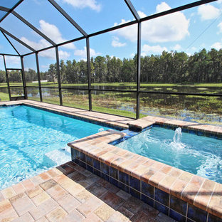 Enclosed Swimming Pool | Houzz