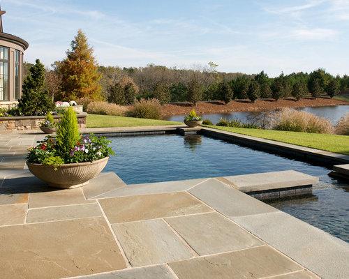Fotos de piscinas dise os de piscinas cl sicas de tama o - Tamanos de piscinas ...