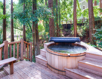 Magical Mill Valley Estate in The Redwoods