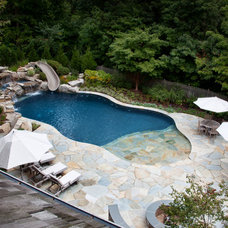 Traditional Pool by Stonetown Construction Corp