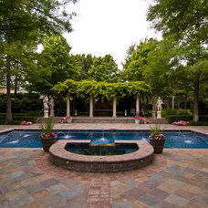 Traditional Pool by Dallas Renovation Group