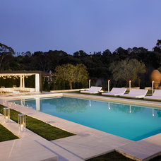 Mediterranean Pool by Amy Noel Design