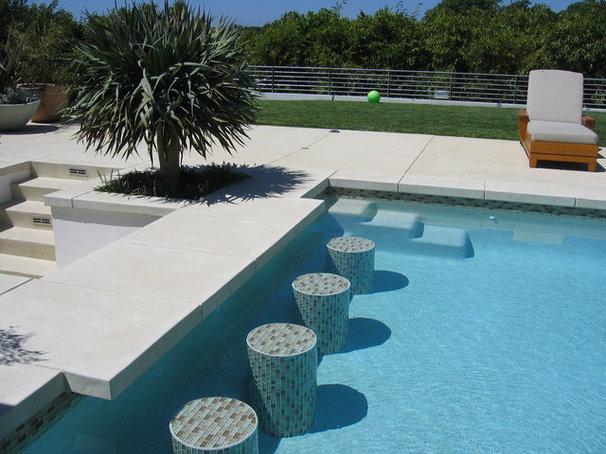 Contemporary Pool by Sage Design Studios, Inc.
