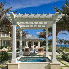 Tropical Pool by Cudmore Builders