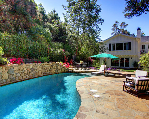 Flagstone pool surround home design ideas pictures for Pool surround ideas