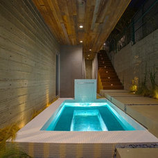 Contemporary Pool by O plus L