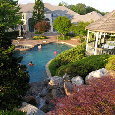 Hanselman landscape and gardens manheim pa us 17545 for Koi pool thornton