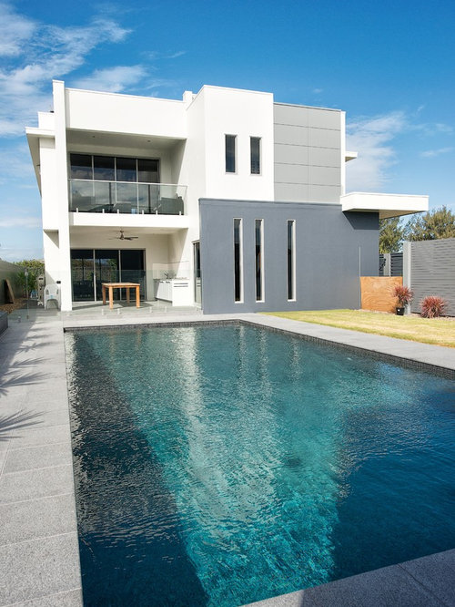 Best modern pool design ideas remodel pictures houzz for Pool design houzz