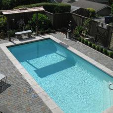 Asian Pool by Bromik Design & Build
