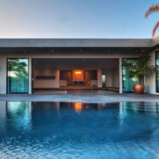 Midcentury Pool by Tuggey Construction