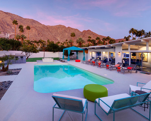 Palm springs landscaping design ideas remodel pictures for Palm springs landscape design