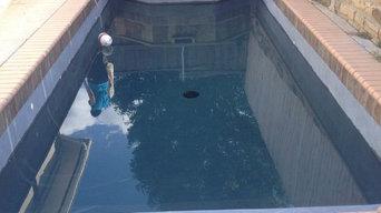 Mathai's Tahoe Blue Quartz Brite Pool Resurfacing