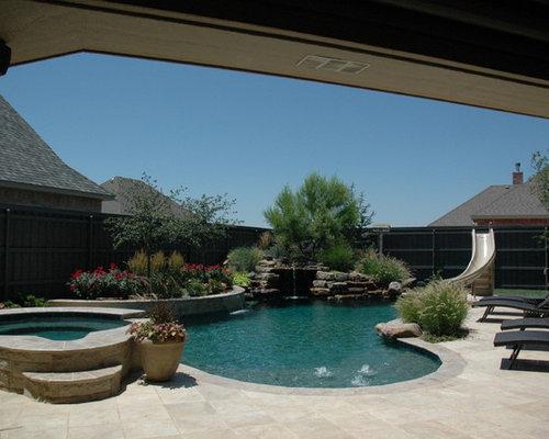 Fotos de piscinas dise os de piscinas r sticas en patio for Piscinas rusticas fotos