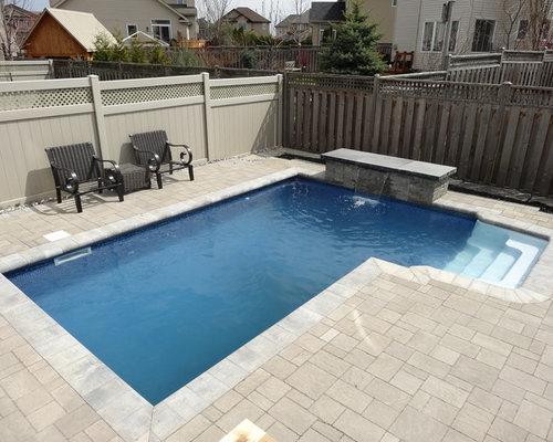 Ottawa pool design ideas renovations photos with brick for Pool design ottawa