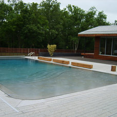 Contemporary Pool by Indian Summer Pool and Spa