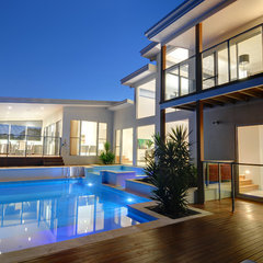 modern pool by Soul Space