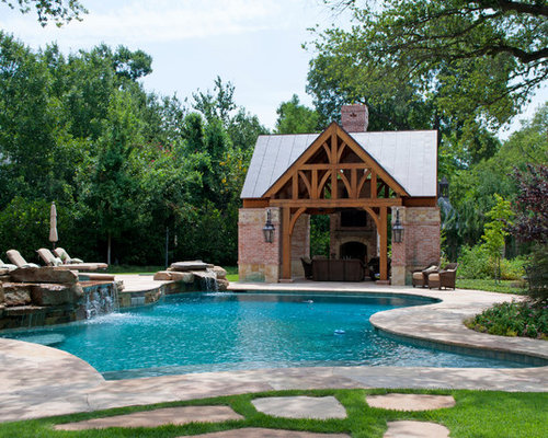 Rustic Pool House Ideas: Rustic Pool House Design Ideas, Remodels & Photos