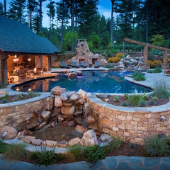 traditional pool by Medallion Pool Co.