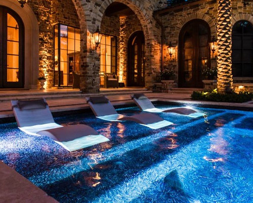 Awesome Mediterranean Elegance By Custom Design Pools