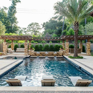 Mediterranean Elegance by Custom Design Pools