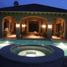 Mediterranean Pool by John Pack Custom Pools