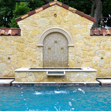 Mediterranean Pool by Harold Leidner Landscape Architects