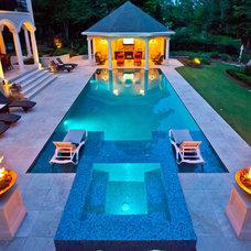 Mediterranean Pool by Shane LeBlanc Designs