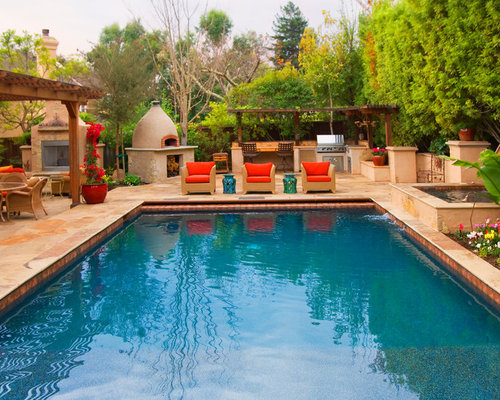 Pool outdoor kitchen design ideas remodel pictures houzz for Pool design houzz