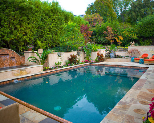 Luxury pool designs houzz for Pool design houzz