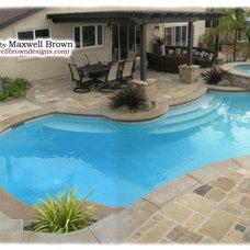 Mediterranean Pool by Maxwell Brown