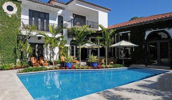 Pool in a Garden